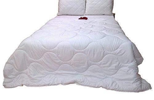 4 jahreszeiten 2 bettdecken mit noppen verbunden 200x220 ko tex standard 100 top qualit t. Black Bedroom Furniture Sets. Home Design Ideas