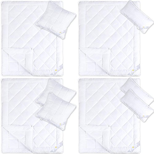 4 jahreszeiten steppdecke f r winter und sommer mikrofaser bettdecken set inkl kopfkissen. Black Bedroom Furniture Sets. Home Design Ideas