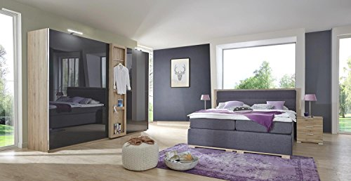 4 tlg schlafzimmer schlafzimmerm bel set schlafzimmereinrichtung komplettangebot modern. Black Bedroom Furniture Sets. Home Design Ideas