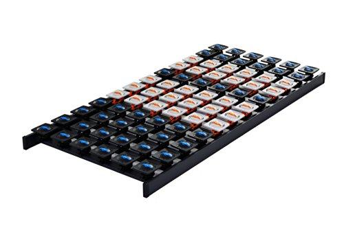5 Zonen Buche Lattenrost Tellerrost Tellerrahmen 80x200 cm 80 x 200 cm DaMi Dream