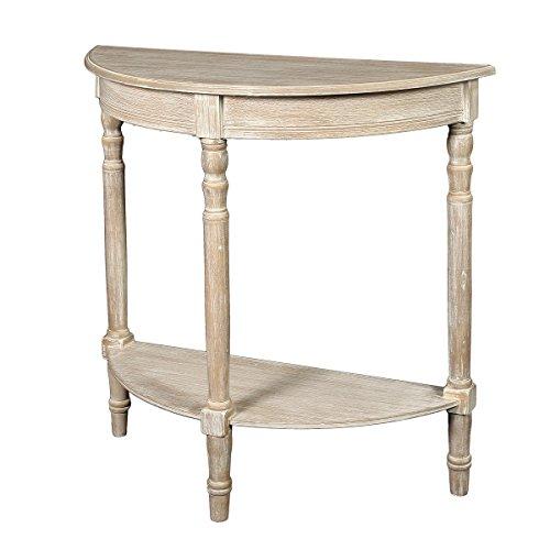 Ambiente Haus 31503 Windsor Halbrund Tisch 80 cm