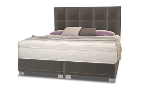 amerikanisches boxspringbett dream 180x200 mit luxus 7 zonen taschenfederkernmatratze und. Black Bedroom Furniture Sets. Home Design Ideas