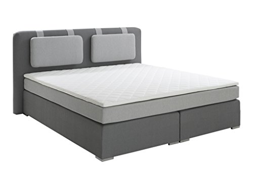 Atlantic Home Collection HARDY Boxspringbett, Stoff