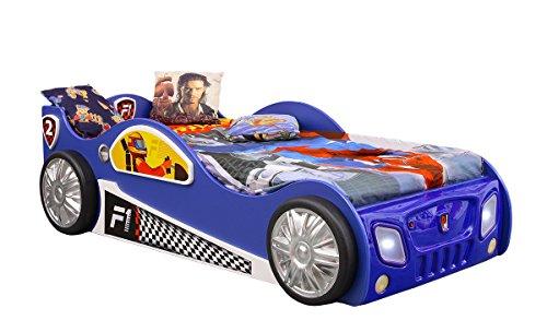 autobett monza kinderbett led beleuchtung jugendbett kinderzimmer auto blau 0 boxspringbetten. Black Bedroom Furniture Sets. Home Design Ideas