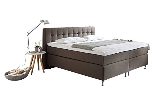 belvandeo la perla amerikanisches boxspring bett 7 zonen taschenfederkern matratze. Black Bedroom Furniture Sets. Home Design Ideas