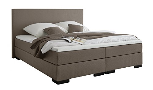 belvandeo verona amerikanisches boxspring bett bonellfederkern matratze h rtegrad h2. Black Bedroom Furniture Sets. Home Design Ideas