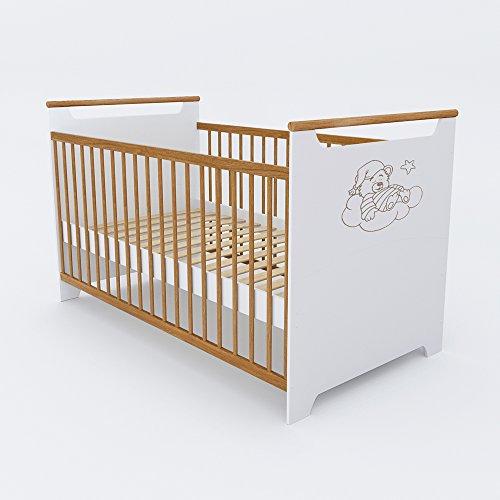 babybett kinderbett gitterbett beistellbett juniorbett jugendbett bett 140 70 cm m bel24. Black Bedroom Furniture Sets. Home Design Ideas