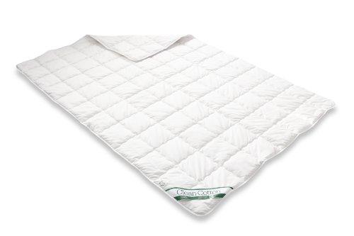Badenia Bettcomfort 03731230148 Steppbett Clean Cotton leicht 155 x 200 cm wei