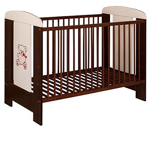 best for kids gitterbett my sweet baby kinderbett babybett braun 3 teile 120x60 ohne matratze. Black Bedroom Furniture Sets. Home Design Ideas