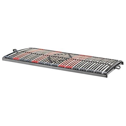 Betten-ABC Max - Premium NV, 7 Zonen Lattenrost mit 44 Leisten und Mittelzonenverstellung