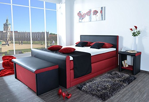 boxspringbett leonardo 7 zonen taschenfederkern lieferbar. Black Bedroom Furniture Sets. Home Design Ideas