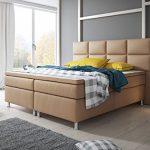 Boxspringbett MIAMI Hotelbett Betten 140x200 cm oder 180x200 cm mit Topper