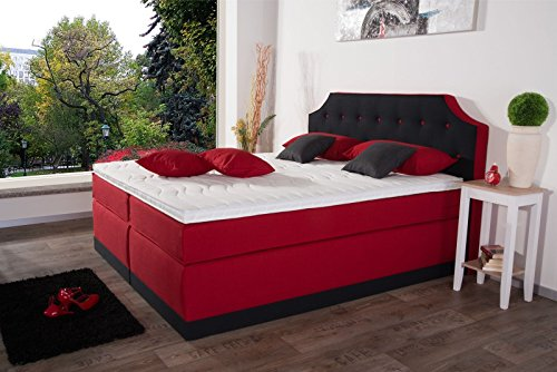 boxspringbett maria 7 zonen taschenfederkern lieferbar in h rtegrad h2 h3 h4 mit komfort. Black Bedroom Furniture Sets. Home Design Ideas