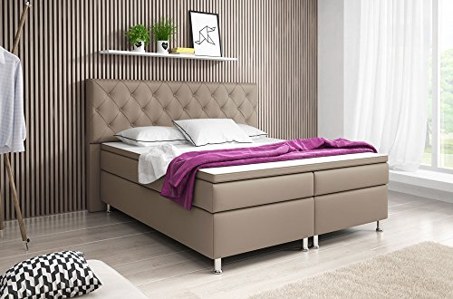 boxspringbett turin doppelbett amerikanisches bett. Black Bedroom Furniture Sets. Home Design Ideas
