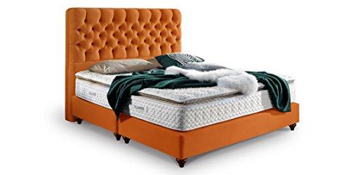 boxspringbett vegas hotelbett doppelbett matratze topper. Black Bedroom Furniture Sets. Home Design Ideas