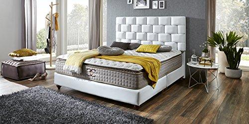 boxspringbett z rich hotelbett doppelbett matratze topper. Black Bedroom Furniture Sets. Home Design Ideas
