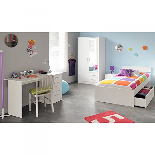 cravog kinderzimmer komplett set 4 tlg kleiderschrank bett. Black Bedroom Furniture Sets. Home Design Ideas
