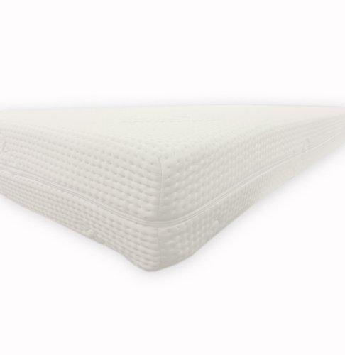 Dibapur®: Cashmere Topper Visco Noppen Auflage mit Cashmere Bezug ca. 6cm Gesamt: ca. 6,2 cm