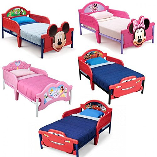 disney 3d kinderbett lightning mcqueen princess mickey minnie bett m bel kinderzimmer 140x70. Black Bedroom Furniture Sets. Home Design Ideas