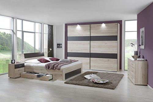 dreams4home schlafzimmerkombination 39 slim ii. Black Bedroom Furniture Sets. Home Design Ideas