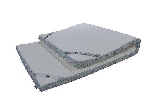 Ebitop Topper-Matratzen- Matratze- Matratzenauflage, Visko-Matratzenauflage, Auflage, viscoelastische Topper 7cm hoch Mlily