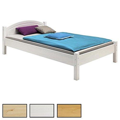 Holzbett Einzelbett Doppelbett MARIE Bett verschiedene Ausführungen Kiefer massiv lackiert