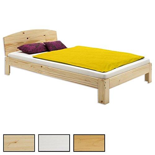 Holzbett Einzelbett TIM Bett Kiefer massiv verschiedene Ausführungen