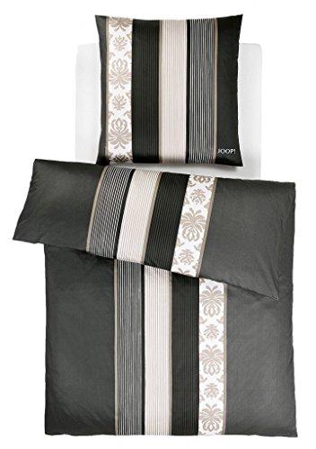 joop bettwaesche mako satin ornament stripe 4022. Black Bedroom Furniture Sets. Home Design Ideas