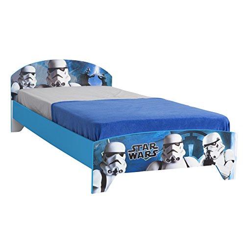 Jugendbett Einzelbett Star Wars Storm Trooper Kinderbett Bett Liege Bettgestell 90x200cm