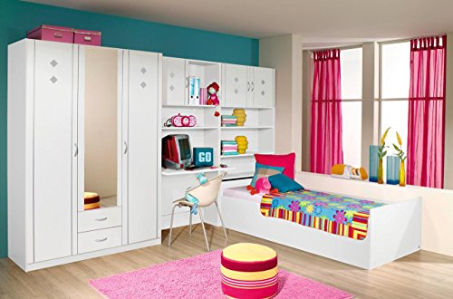 jugendzimmer komplett set jungen m dchen kinderzimmer jugendm bel kinderm bel 5 teilig. Black Bedroom Furniture Sets. Home Design Ideas