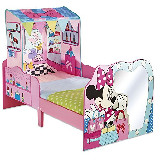 kinderbett luxus minnie mouse 140x70cm disney kinderbett babybett m dchen kinderbett. Black Bedroom Furniture Sets. Home Design Ideas