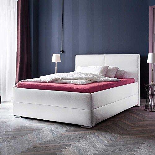 Komfortbett in Weiß 180x200 Pharao24
