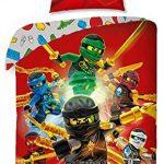 Lego Ninjago Bettwäsche Kinder Bettwäsche 140x200 cm (Oeko Tex Standard 100)