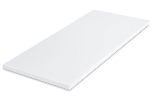 MSS Viscoelastische Matratzenauflage, Visco-Schaumstoff, ohne Bezug