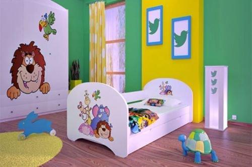 neu kinderbett mit 2 liegefl chen und 2 matratzen f r. Black Bedroom Furniture Sets. Home Design Ideas