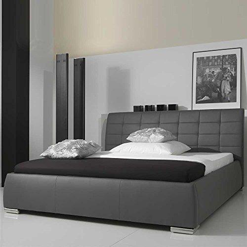 polsterbett grau maxwell pharao24 betten online shop. Black Bedroom Furniture Sets. Home Design Ideas