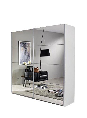 rauch schwebet renschrank subito 2 t rig 2 spiegel 136 x 197 x 61 cm korpus. Black Bedroom Furniture Sets. Home Design Ideas