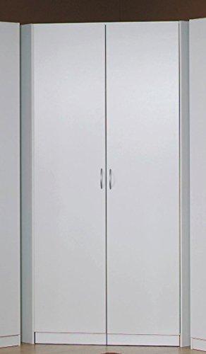 rauch eck kleiderschrank begehbar alpinwei 117 x 117 cm. Black Bedroom Furniture Sets. Home Design Ideas