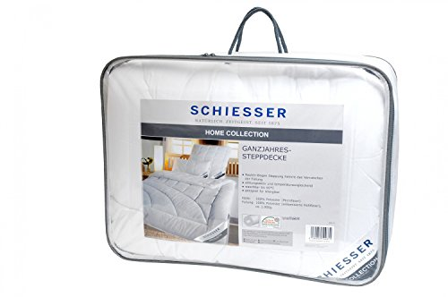 schiesser ganzjahres steppbett bettdecke 155 x 220 cm allergiker geeignet verschiedene. Black Bedroom Furniture Sets. Home Design Ideas