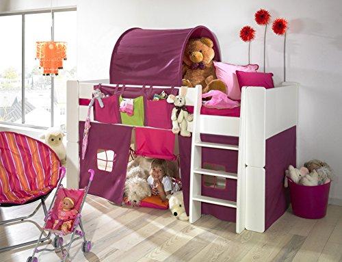 steens halbhochbett spielbett boxspringbetten. Black Bedroom Furniture Sets. Home Design Ideas