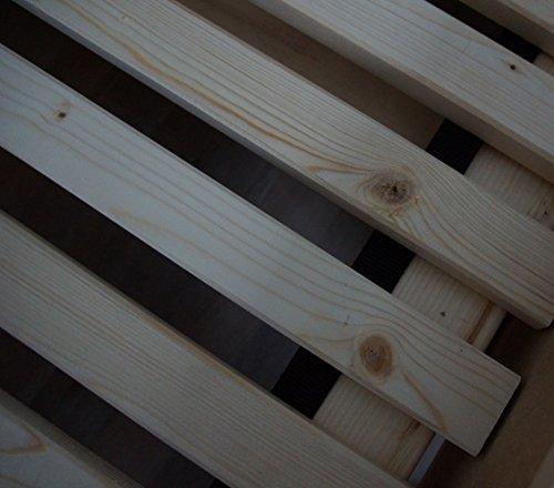 TUGA Holztech Naturprodukt FSC 28 LEISTEN 250Kg in allen Größen 70 80 90 100 120 140 160 180 200 220 ROLLROST Lattenrost Qualitätsarbeit aus Deutschland unbehandelt