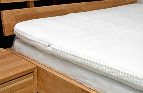 Topper, Matratzenauflage, Kaltschaum 7cm, alle Größen - Schlafen wie auf Wolken