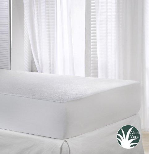 velfont matratzenschoner aloe vera wasserdicht und atmungsaktiv verfgbar in verschiedenen gren 0. Black Bedroom Furniture Sets. Home Design Ideas