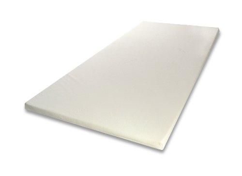 Viscoelastische Matratzenauflage 5cm H2 mittel mit Bezug Ideal