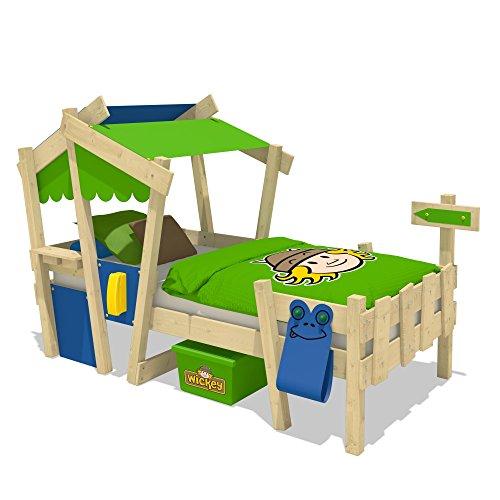 wickey kinderbett crazy candy jugendbett 90x200cm mit. Black Bedroom Furniture Sets. Home Design Ideas