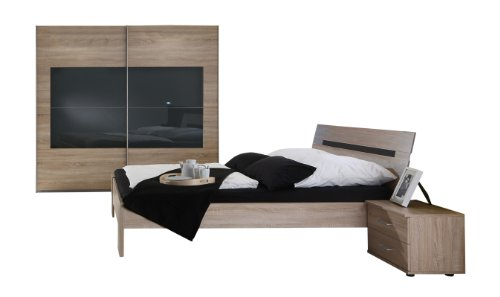 wimex 878342 schlafzimmer set bestehend aus bett 180 x. Black Bedroom Furniture Sets. Home Design Ideas