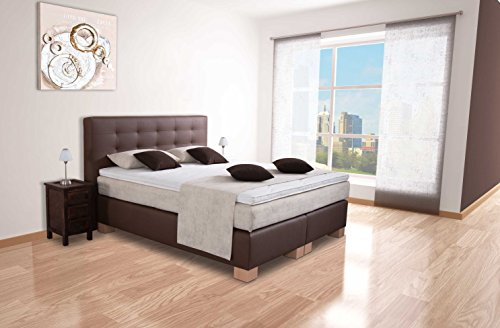 berlnge boxspringbett 180x220cm modell phnix 7 zonen. Black Bedroom Furniture Sets. Home Design Ideas