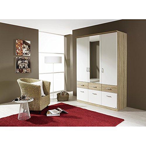 rauch kleiderschrank bremen weidekor eiche sonoma mit. Black Bedroom Furniture Sets. Home Design Ideas