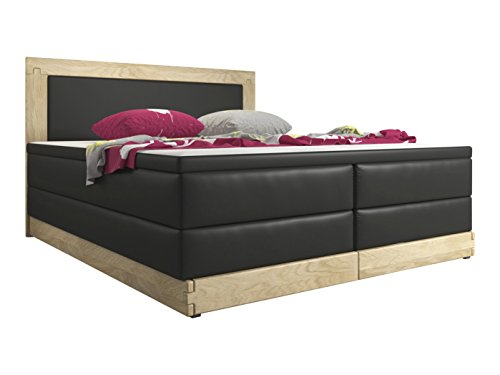 trendteam boxspringbett vancouver 5 gang bonell federkern 7 zonen taschenfederkern inkl 4 cm. Black Bedroom Furniture Sets. Home Design Ideas