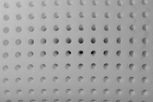 ALOE VERA SPEZIAL Orthopädisches HWS Nackenstützkissen 70x35 cm GRATIS 2 BEZÜGE in ALOE VERA getränkt. Aus druckausgleichendem Viscogelschaum Kopfkissen Wellness-Kissen Nacken-Kissen von Betten Jumbo